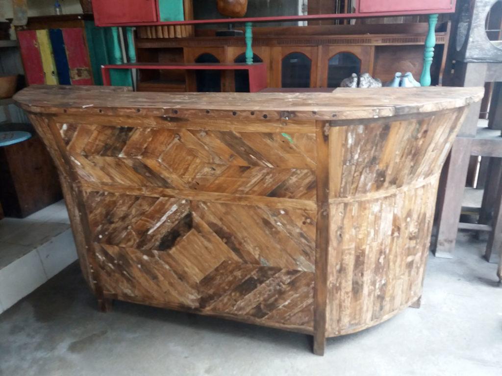 Fabriquer Un Bar En Bois comptoirs et bars - la dérive des continents - mobilier d